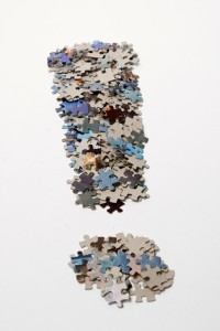 """Fat exclamation mark made from jigsaw puzzle pieces"" on flickr, by Horia Varlan (CC BY 2.0)"